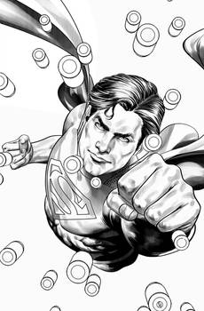Superman inks