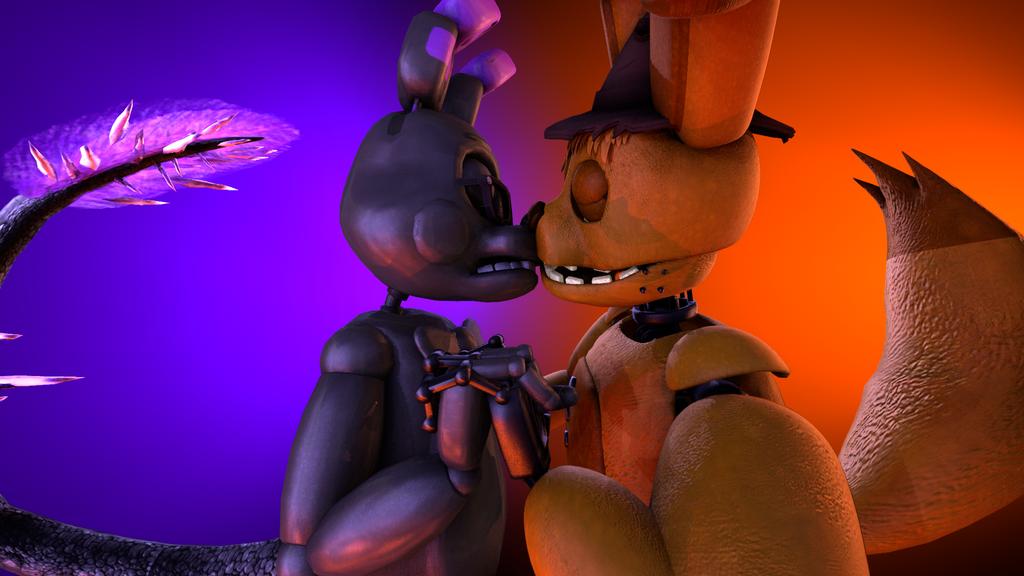 (FNAF/SFM/OC) I and my cute Bunny :33333 by Notte-di-Luna-SFM