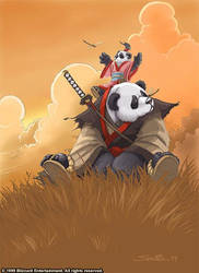 Warcraft - The First Pandaren by SamwiseDidier