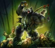 Warcraft - Chen Stormstout by SamwiseDidier