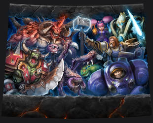 Warcraft - All the gangs here by SamwiseDidier
