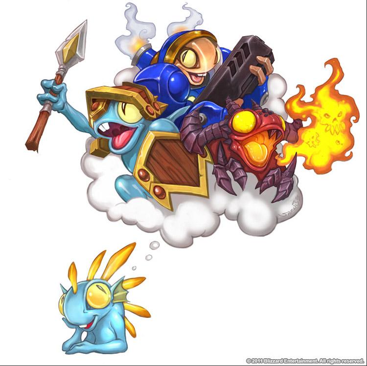 Warcraft - Murloc Ambition by SamwiseDidier