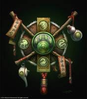 Warcraft - Icon of Pandaria by SamwiseDidier