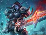 Warcraft - Night Elf Death Knight