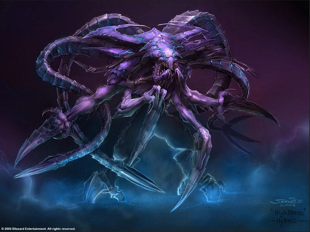 StarCraft - Hybrid Concept by SamwiseDidier