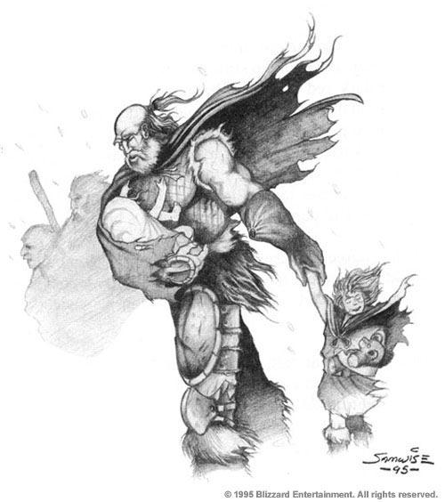 Warcraft Lothar Warcraft Ii Manual By Samwisedidier On Deviantart