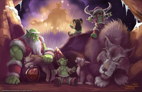 Warcraft - Holiday Card 2003