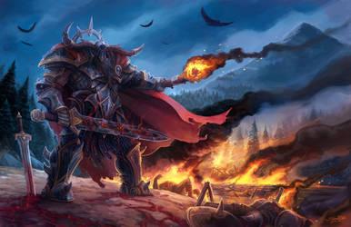 Black Wind, Fire And Steel by SamwiseDidier