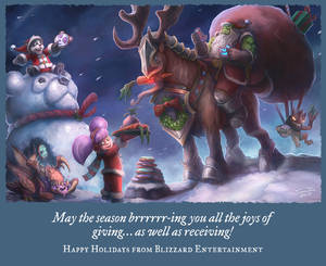 Blizzard Holiday Card 2014