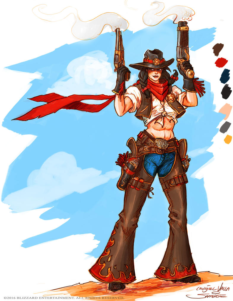 valla cowgirl color by samwisedidier - Cowgirl Pictures To Color