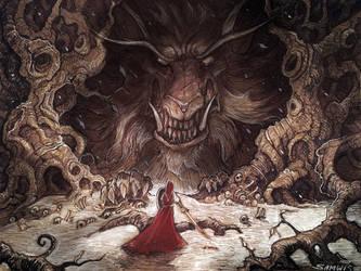 The Red Hood by SamwiseDidier