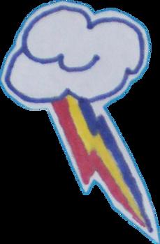 Rainbow Dash Cutie Mark sticker