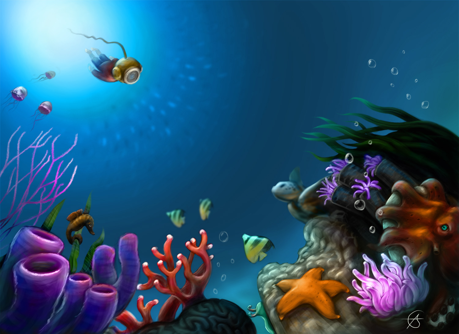 the deep sea This page was last edited on 24 january 2017, at 21:40 content is available under cc by-nc-sa 30 unless otherwise noted game content and materials are trademarks and copyrights of their respective publisher and its licensors.