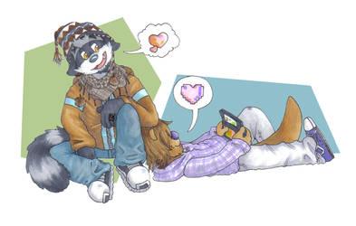 I Love My Purple Otter
