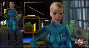The Sims 3: Metroid - Samus Aran by Tx-Slade-xT