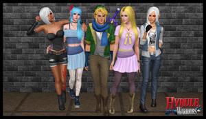 The Sims 3: Hyrule Warriors by Tx-Slade-xT
