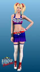 Sims 3: Lollipop Chainsaw - Juliet Starling by Tx-Slade-xT