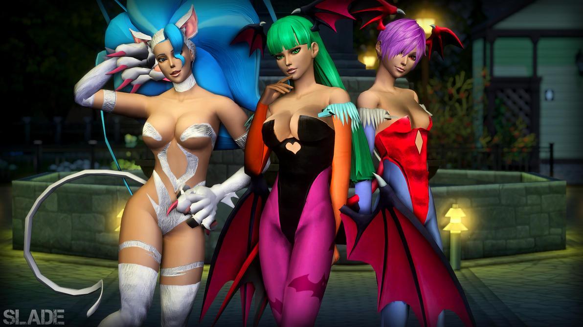 [Sims 4] Darkstalkers by Tx-Slade-xT