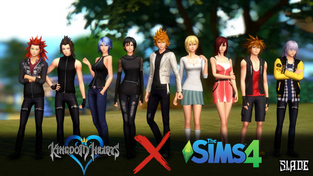 [Sims 4 DL] Kingdom Hearts CC Set by Tx-Slade-xT