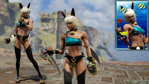 [SoulCalibur VI] Ms. Fortune ~ Skullgirls by Tx-Slade-xT