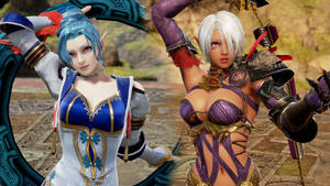 [SoulCalibur VI] Lana and Cia (Hyrule Warriors) by Tx-Slade-xT