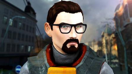 [Sims 4] Half-Life ~ Gordon Freeman by Tx-Slade-xT