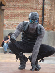 Noir Spiderman Cosplay by radr77