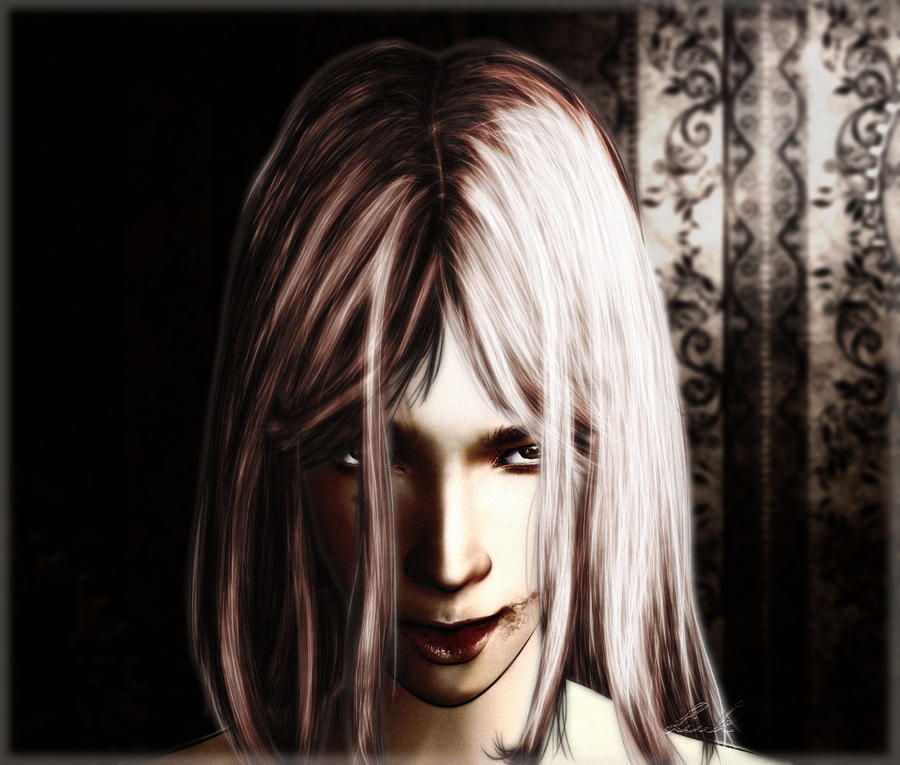 Devil's Smile by LindsayDole on deviantART