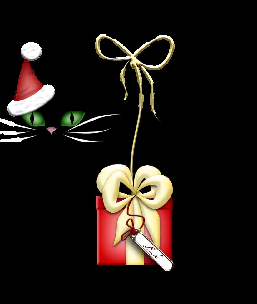 Santa Claus Cat by LindsayDole