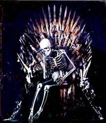 Waiting on the throne by LindsayDole