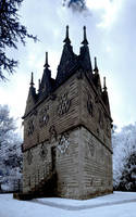 Triangular Lodge in I/R by amberstudios