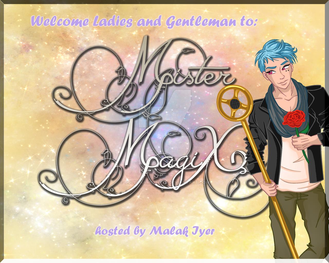 Mister MagiX Invitation by GoldenAmethyst