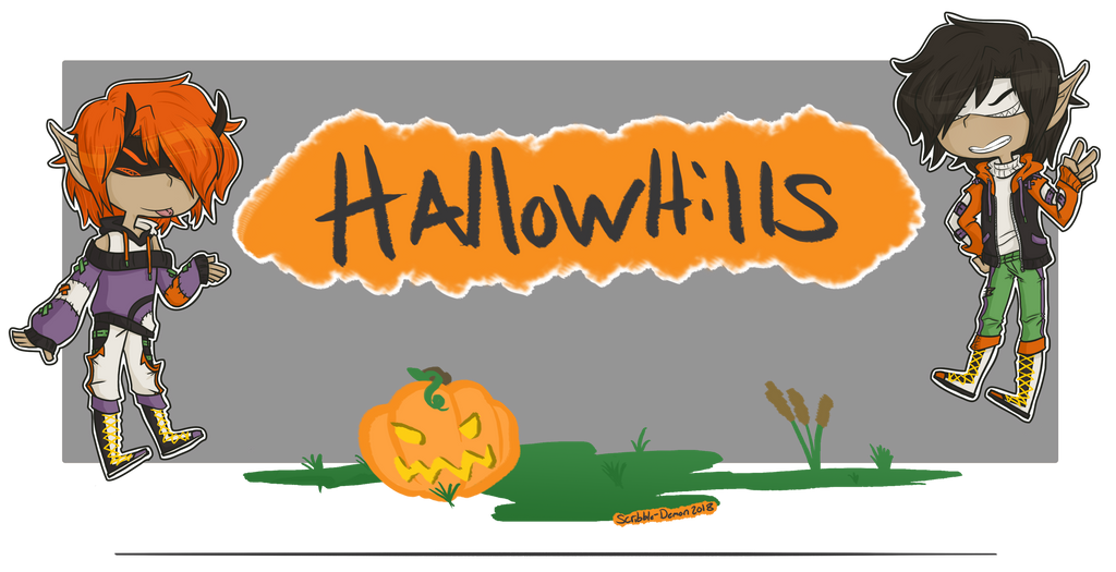 .:: Welcome to Hallow Hills ::. by Scribble-Demon