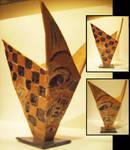 Handbuilt Slab Ceramic Vase