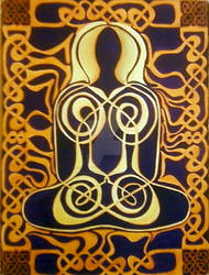 Knot Woman II in Watercolor