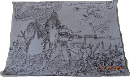 Passchendaele, 1917.