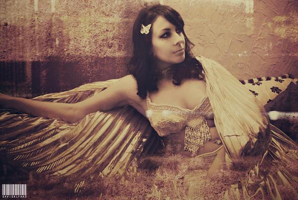 Egyptian Priestess 01 by Nadixe