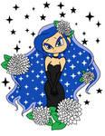 Luna as The Black Dahlia