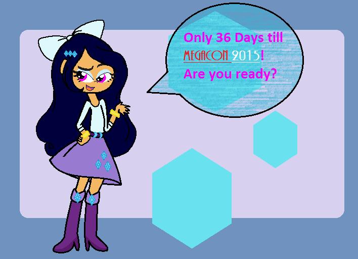 Can't Wait for Megacon 2015! by Obeliskgirljohanny