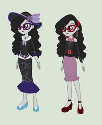 Two Grown-up Cyannes from Two Different worlds by Obeliskgirljohanny