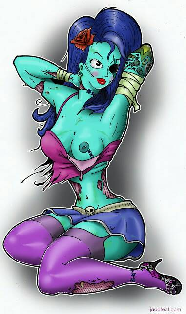 zombie pin up by pag3833