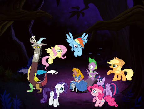 MLP Disney Chronicles Lost in Tulgey Wood