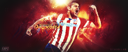 D13 COLLAB - Diego Costa by SoccergraphicDEVIANT
