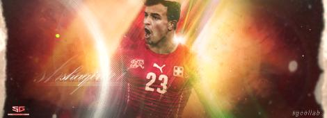 SG COLLAB #16 - Shaqiri by SoccergraphicDEVIANT