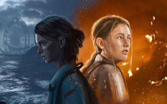 Ellie and Abby