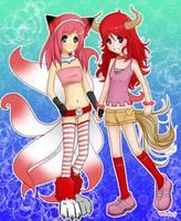 two friends... by kemariel