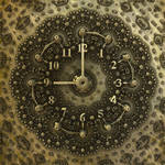 Mandelbulb3D - Clock (by heightmap) - with paras