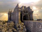 Mixpinski Castle - Mandelbulb with Parameter