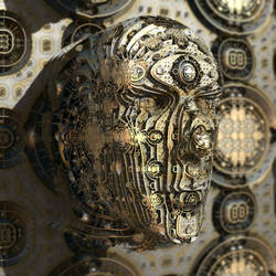 return of head-heightmap - Mandelbulb3D with Paras
