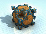 cube nr x - Mandelbulb3D with Parameter